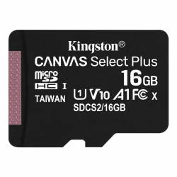 Memoria MicroSD+SD 16 Gb Clase10 Kingston