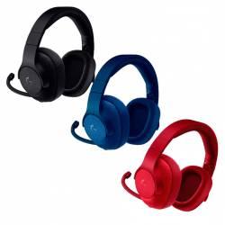 Auricular Gamer Logitech G433 Rojo Azul Negro