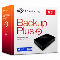 Disco Externo 5 Tb Seagate Backup Plus