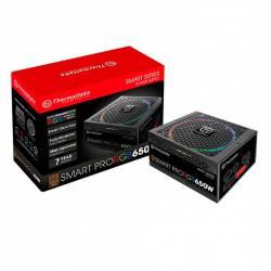 FUENTE THERMALTAKE SMART PRO RGB 650 W 80 PLUS BRONZE