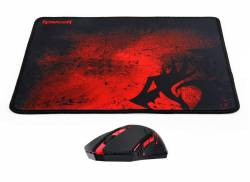 Mouse Gamer Redragon + Pad M601WL-BA