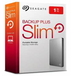 Disco Externo 1 Tb Seagate Backup Plus