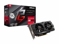 Placa De Video Radeon RX 580 8Gb Asrock Phanton Oc