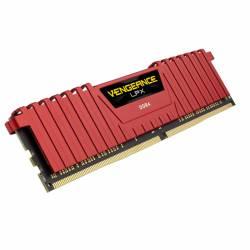 DDR4 - 4 GB 2400 MHZ VENGEANCE LPX ROJO CORSAIR