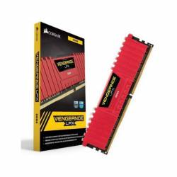 DDR4 - 8 GB 2400 MHZ VENGEANCE LPX ROJO CORSAIR