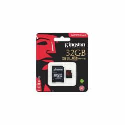 Memoria MicroSD+SD 32 Gb Canvas React Kingston