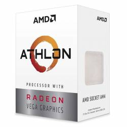 Amd Atlhon 3000G 2.70 Ghz + Vega 3 - AM4