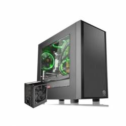 Gabinete Mini Tower Thermaltake Versa H17 + Fuente 450W