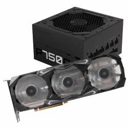 Kit GeForce GTX 3070 Ti 8Gb + Fuente 750 W 80 Plus Gold #