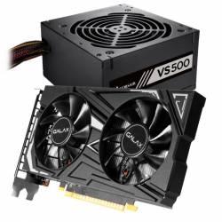 Kit GeForce GTX 1650 4Gb  + Fuente Corsair 500 W #
