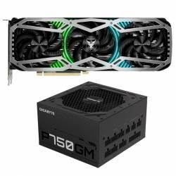 Kit GeForce GTX 3080 Ti 12Gb + Fuente 750 W 80 Plus Gold #