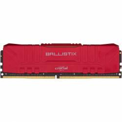 Memoria Ram DDR4 - 16Gb 3200 Mhz Ballistix Rojo
