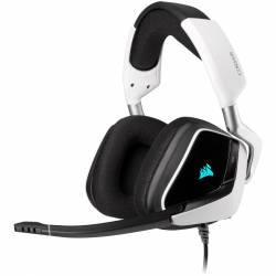Auricular Gamer Corsair Void Rgb Elite 7.1 Surround Blanco
