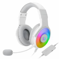 Auricular Gamer Redragon Pandora 7.1 H350 Blanco