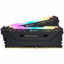 Memoria Ram DDR4 - 16Gb 2x8 4000 Mhz Corsair Vengeance Rgb Pro Negro