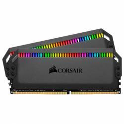 Memoria Ram DDR4 - 16Gb 2x8 3600 Mhz Corsair Dominator Platinum Rgb Negro