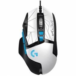 Mouse Gamer Logitech G502 Hero KDA LOL Edition Blanco