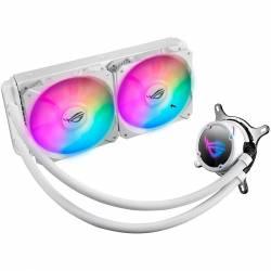 Cooler Cpu Watercooler Asus Rog Strix  240 Rgb Blanco 180 W